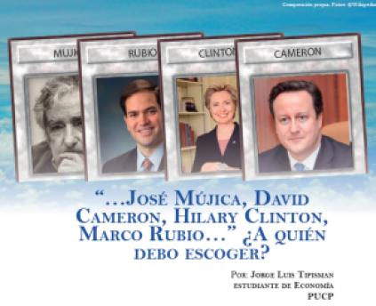 JMújica, Cameron, Clinton, Rubio
